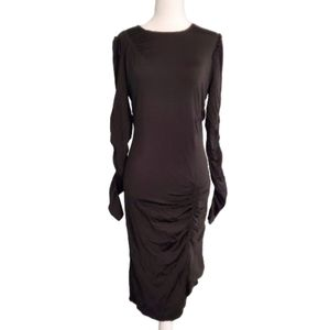 NWOT Michael Kors Black Stretch Jersey Dress